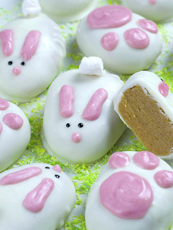 White Chocolate Reese's Easter Bunnies