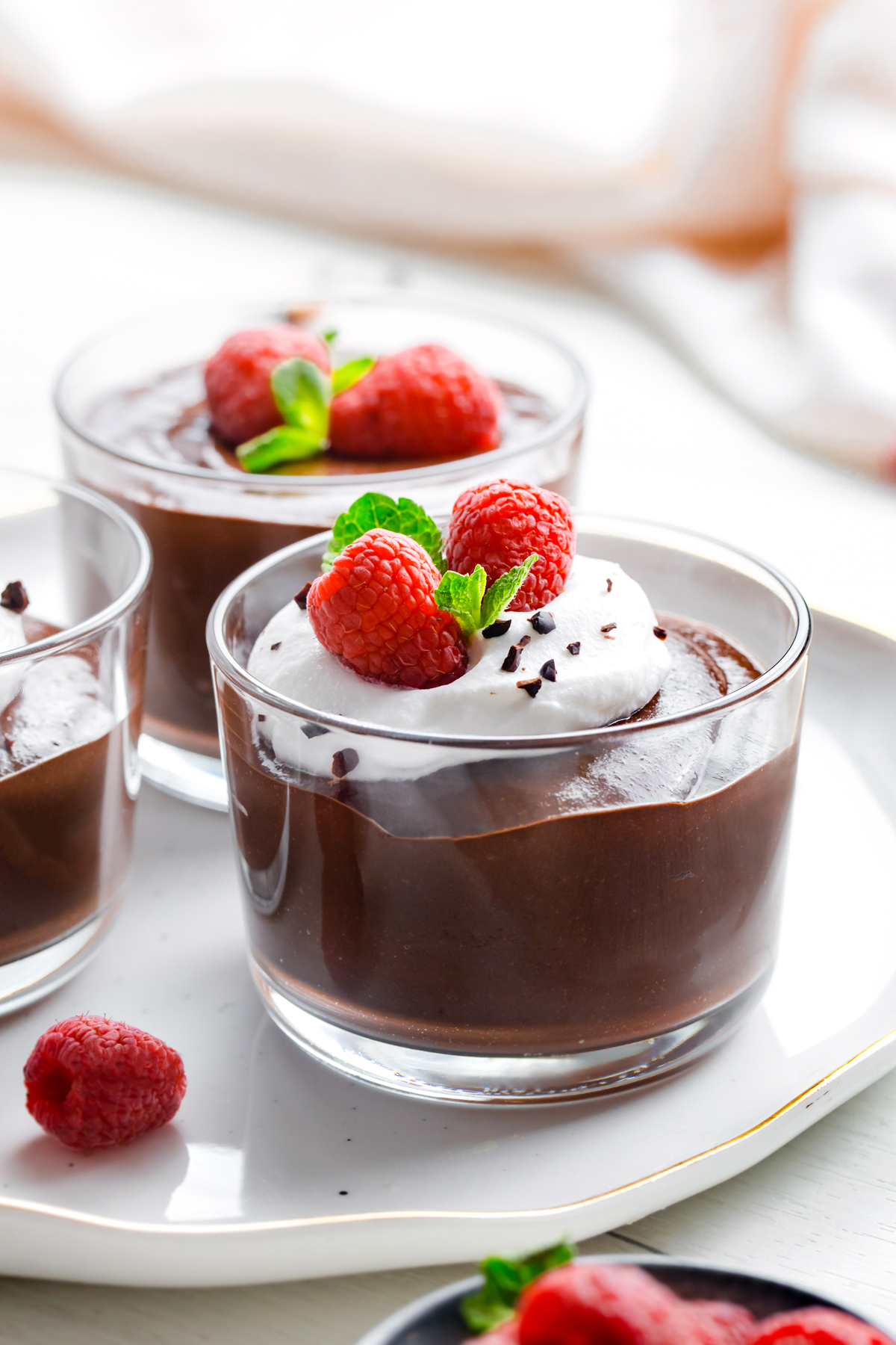 Chocolate Chia Pudding (paleo, vegan)