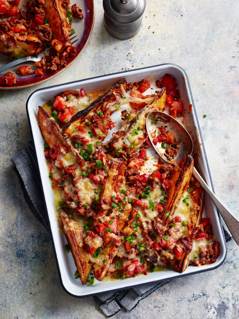 Chilli-loaded wedges