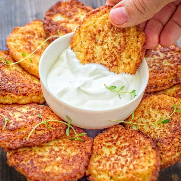 Basic Cauliflower Fritters