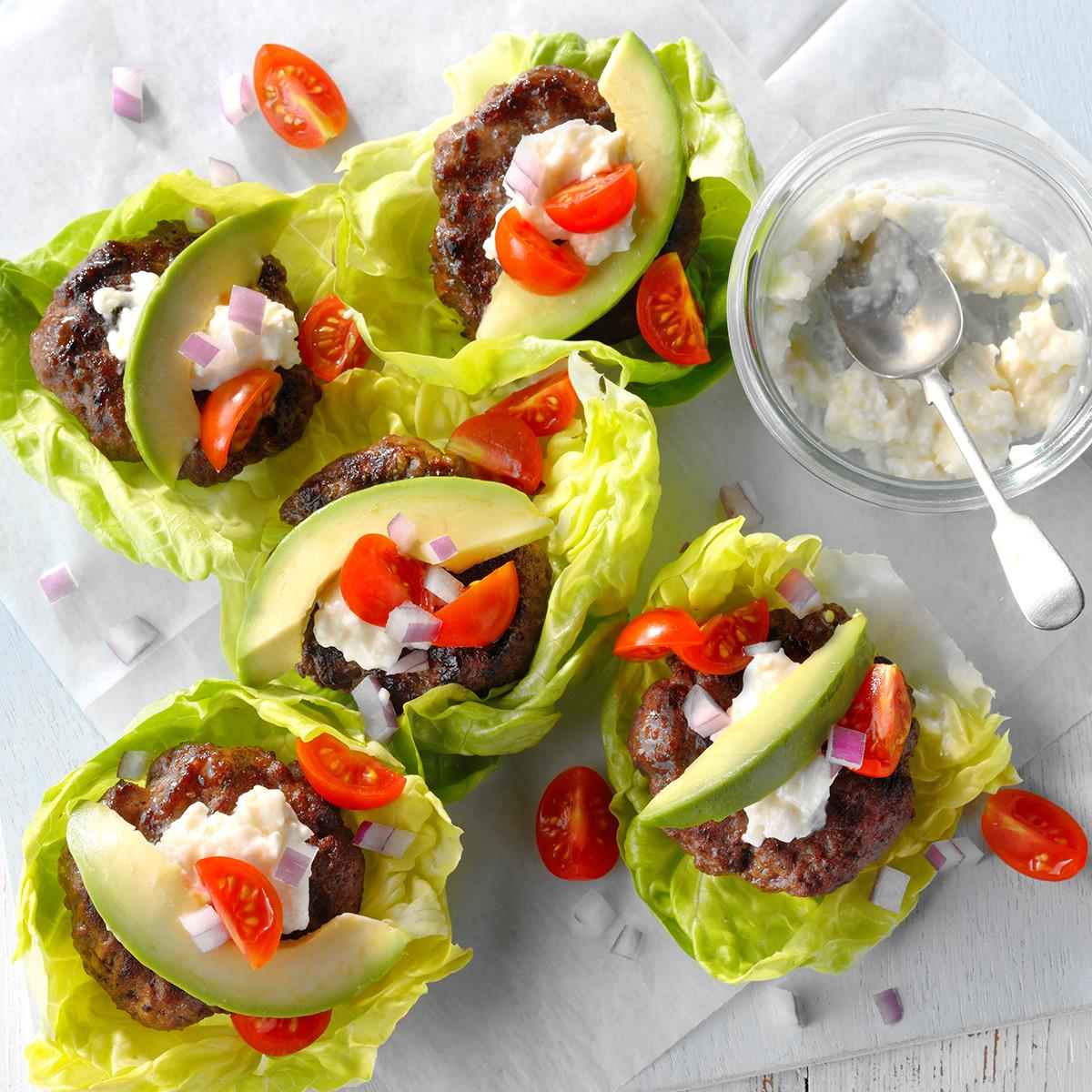 California Burger Wraps